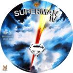 Superman IV (1987) R1 Custom Label