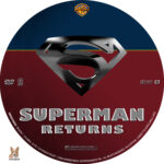 Superman Returns (2006) R1 Custom Label