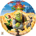Shrek (2001) R1 Custom Labels