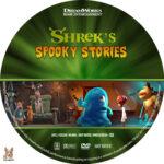 Shrek's Spooky Stories (2012) R1 Custom Label