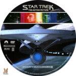 Star Trek: The Motion Picture (1979) R1 Custom Labels