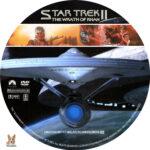 Star Trek II: The Wrath of Khan (1982) R1 Custom Labels