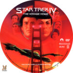 Star Trek IV: The Voyage Home (1986) R1 Custom Labels