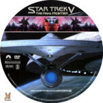 Star Trek V: The Final Frontier (1989) R1 Custom Labels