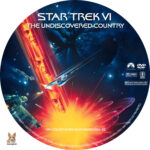Star Trek VI: The Undiscovered Country (1991) R1 Custom Labels