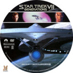 Star Trek VII: Generations (1994) R1 Custom labels