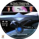Star Trek VII: Generations (1994) R1 Custom labels