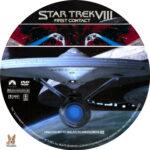 Star Trek VIII: First Contact (1996) R1 Custom labels