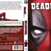 Deadpool (2016) R2 German Custom Blu-Ray Cover