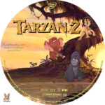 Tarzan 2 (2005) R1 Custom labels