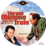 Throw Momma From the Train (1987) R1 Custom Label