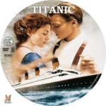 Titanic (1997) R1 Custom label