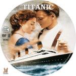Titanic (1997) R1 Custom label