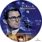 To Kill a Mockingbird (1962) R1 Custom DVD Label