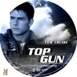Top Gun (1986) R1 Custom labels