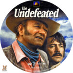 The Undefeated (1969) R1 Custom label
