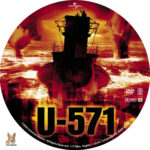 U-571 (2000) R1 Custom Label