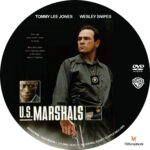 U.S. Marshals (1998) R1 Custom Label