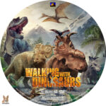Walking with Dinosaurs (2013) R1 Custom Label