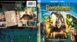 Goosebumps (2015) R1 Custom Blu-Ray Cover