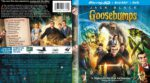 Goosebumps (2015) R1 Custom Blu-Ray 3D Cover