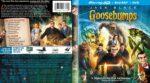 Goosebumps (2015) R1 Custom Blu-Ray 3D Cover