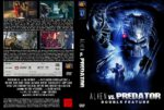 Alien vs Predator 1+2 (Double Feature) (2008) R2 GERMAN Custom Cover