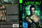 Arrow Staffel 1 (2013) R2 German Custom Cover & labels