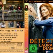 Detective Laura Diamond Staffel 2 (2015) R2 German Custom Cover & labels