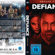 Defiance Staffel 2 (2014) R2 German Custom Cover & labels
