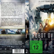 Robot Overlords (2014) R2 German Custom Blu-Ray Cover & label