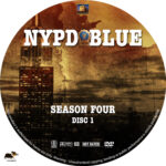 NYPD Blue – Season 4 (1996) R1 Custom Labels