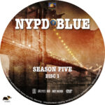 NYPD Blue – Season 5 (1997) R1 Custom Labels