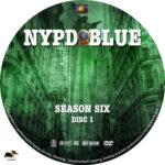 NYPD Blue – Season 6 (1998) R1 Custom Labels