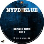 NYPD Blue – Season 9 (2001) R1 Custom Labels