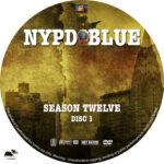 NYPD Blue – Season 12 (2004) R1 Custom Labels