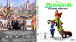 Zoomania (2016) R2 German Custom Blu-Ray Cover & label