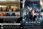 X-men Apocalypse (2016) R0 CUSTOM Cover & label