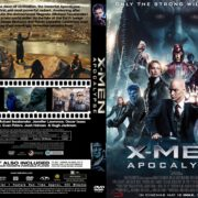 X-men Apocalypse (2016) R0 CUSTOM Cover & label