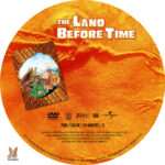 The Land Before Time (1988) R1 Custom Label