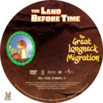 The Land Before Time: The Great Longneck Migration (2003) R1 Custom Label