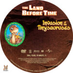 The Land Before Time: Invasion of the Tinysauruses (2004) R1 Custom Label