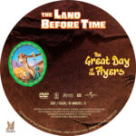 The Land Before Time: The Great Day of the Flyers (2007) R1 Custom Label