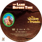 The Land Before Time: The Wisdom of Friends (2007) R1 Custom Label