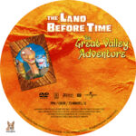 The Land Before Time: The Great Valley Adventure (1994) R1 Custom Label