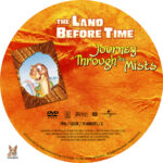 The Land Before Time: Journey Through the Mists (1996) R1 Custom Label
