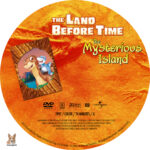 The Land Before Time: The Mysterious Island (1997) R1 Custom label