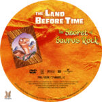 The Land Before Time: The Secret of Saurus Rock (1998) R1 Custom Label