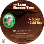 The Land Before Time: The Stone of Cold Fire (2000) R1 Custom Label
