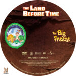 The Land Before Time: The Big Freeze (2001) R1 Custom Label